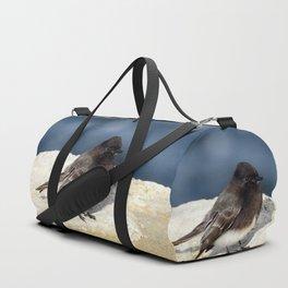 Black Phoebe Duffle Bag