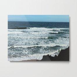 Rollin Waves Metal Print