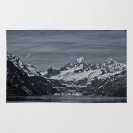 Margerie Glacier and Mount Fairweather, Glacier Bay Alaska, Rug