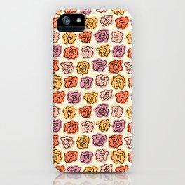Warm Roses iPhone Case
