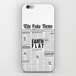 The Fake News Vol. 1, No. 1 iPhone Skin