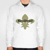 resident evil Hoodies featuring Resident by anto harjo