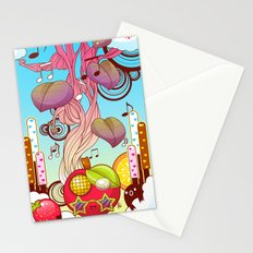 Music for the Masses Stationery Cards