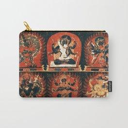 Chakrasamvara Vajravarahi Tantra Thangka Carry-All Pouch