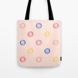 Soccer Ball Illustration – Colorful Tote Bag