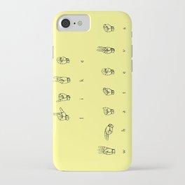 Whatever! iPhone Case