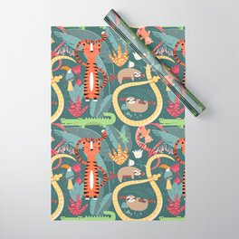 Rain forest animals 003 Wrapping Paper