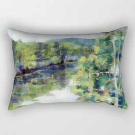 Sleepy Hollow Lake, NY Rectangular Pillow