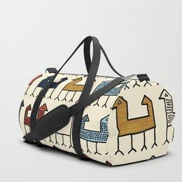 Zagros in Cream Duffle Bag