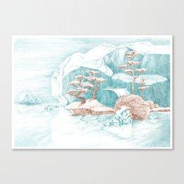 Arctic Mirage Canvas Print