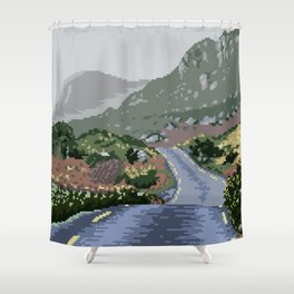 Gap of Dunloe, Ireland Shower Curtain