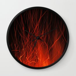 Fire 2010 Wall Clock