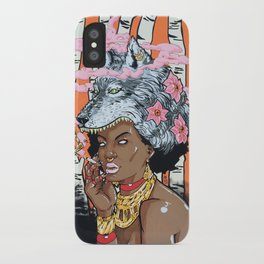 Guilt In Her Grin iPhone Case