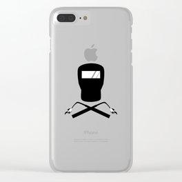 Jolly Welder Clear iPhone Case