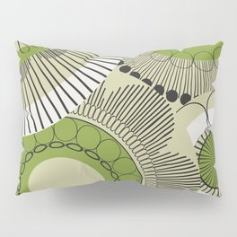Kiwi flowers Pillow Sham