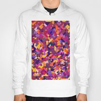 stained glass Hoodies featuring 'Stained Glass' by Mina & Jon