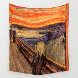 "Edvard Munch ""The Scream"", 1893 Wall Tapestry"