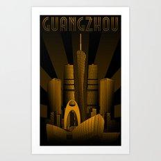 Guangzhou (China) Art Print