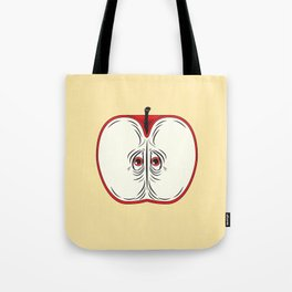 Anxiety Apple Tote Bag