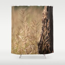 Summer Grass and Tree Shower Curtain