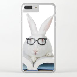 Storytime Bunny Clear iPhone Case