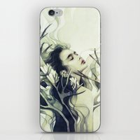 stag iPhone & iPod Skins featuring Stag by Anna Dittmann