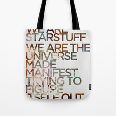 WE ARE STARSTUFF Tote Bag