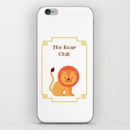 The Roar Club iPhone Skin