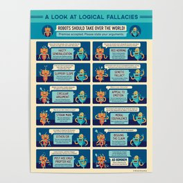A Look at Logical Fallacies Poster