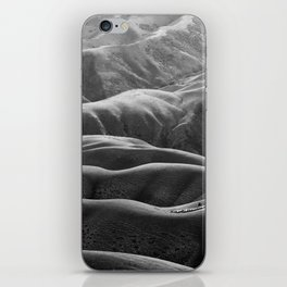 Endless Valleys (Black and White) iPhone Skin