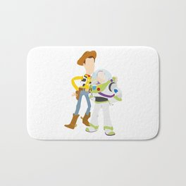 Buzz and Woody Bath Mat