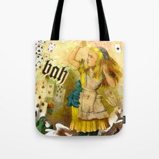 alice annoyed Tote Bag