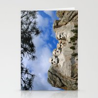 rushmore Stationery Cards featuring Mount Rushmore by Christiane W. Schulze Art and Photograph