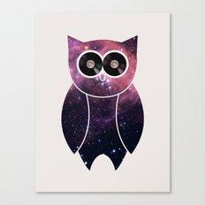 Owl Night Long Canvas Print