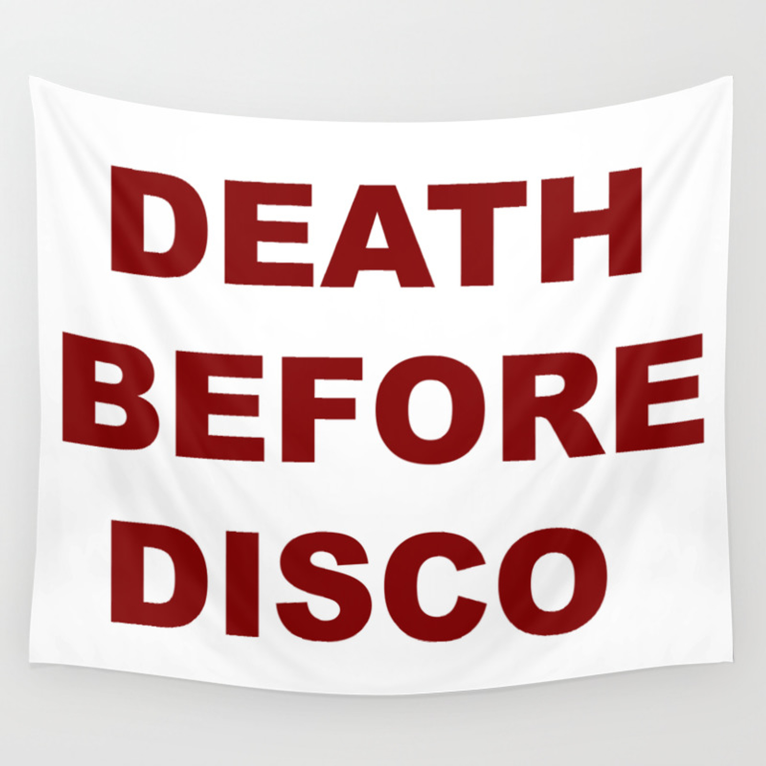 Death Before Disco Wall Tapestry By Shortstoriesgallery Society6