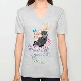 Meeko - Pocahontas - Colors of the Wind Unisex V-Neck
