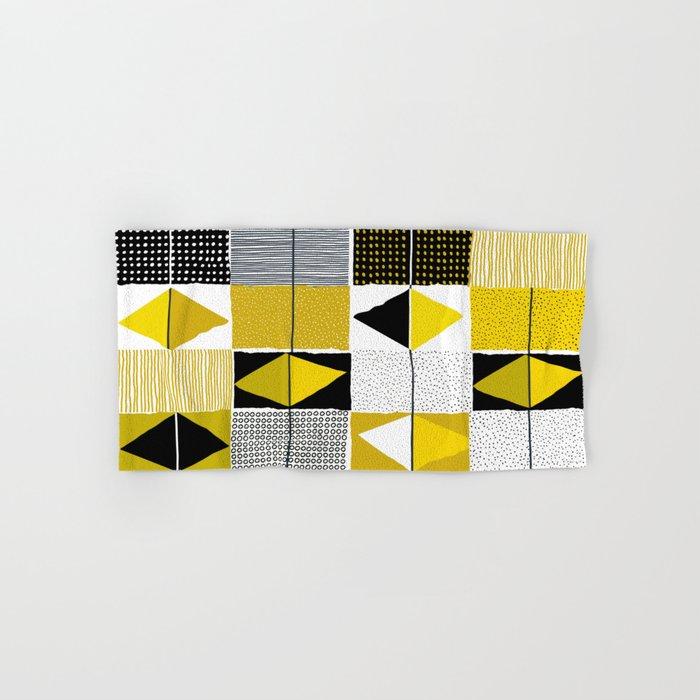 diamond pattern 034 Hand & Bath Towel