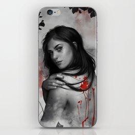 Bad blood iPhone Skin
