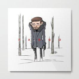 Malvo - Fargo Metal Print
