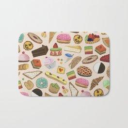 Desserts of NYC Cream Bath Mat