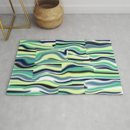 Abstract pattern 155 Rug