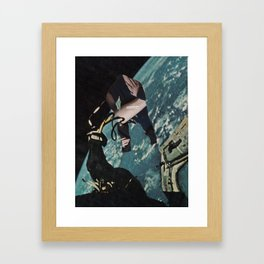 What do I do with the fear that I will never in my life have good sex? Framed Art Print