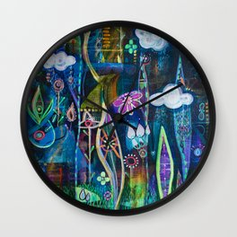 Grows in Adverse Conditions Wall Clock