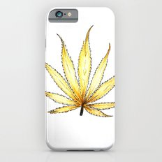 Golden Cannabis iPhone 6s Slim Case