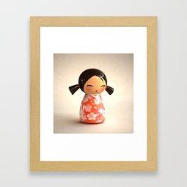 Kokeshi 07 Framed Art Print