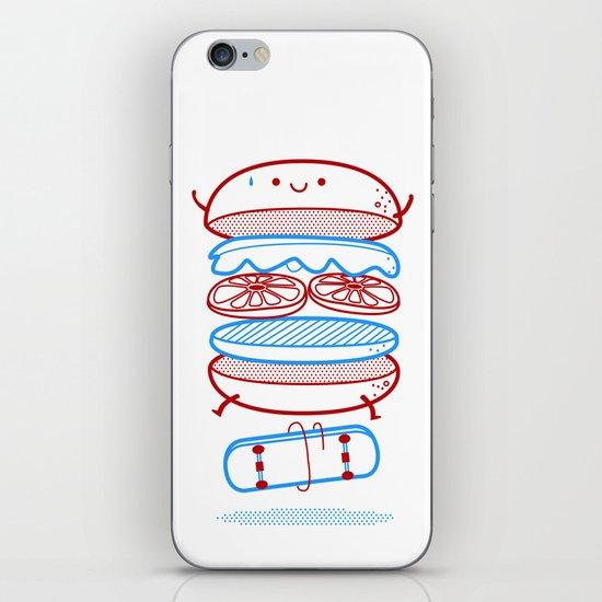 Street burger  iPhone & iPod Skin