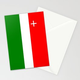 Neuchatel region switzerland country flag swiss Stationery Cards