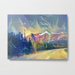Mystic Mountain Metal Print