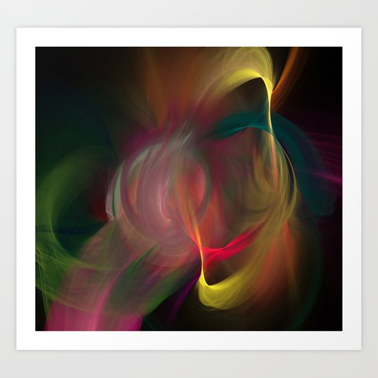Dance of Divinity Art Print