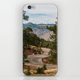 Rocky Mountain Road Trip iPhone Skin